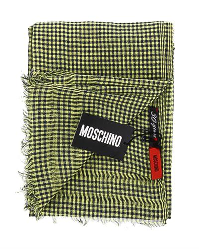 Moschino SCR11242/1 Brand New Scarf  Two tone Cotton