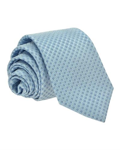 Victorio Brand New Tie  Blue Fabric