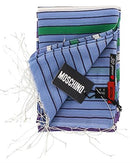 Moschino SCR11243/1 Brand New Scarf  Multicolor Cotton and  Multicolor Silk