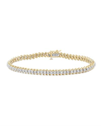 Brand New Bracelet with 1ctw diamond 10K Yellow gold
