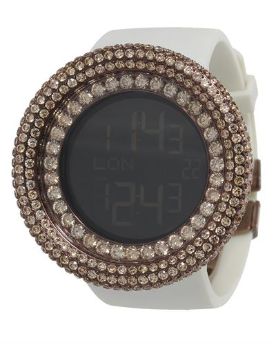 KC WA009461 Brand New Digital multifunction Watch with 0ctw crystal