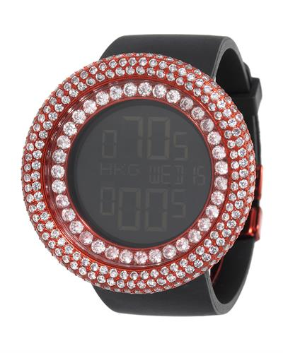 KC WA009462 Brand New Digital multifunction Watch with 0ctw crystal