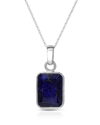 Brand New Necklace with 12.37ctw lapis lazuli 925 Silver sterling silver