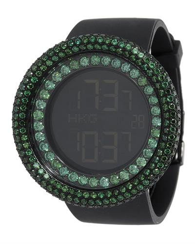 KC WA009465 Brand New Digital multifunction Watch with 0ctw crystal