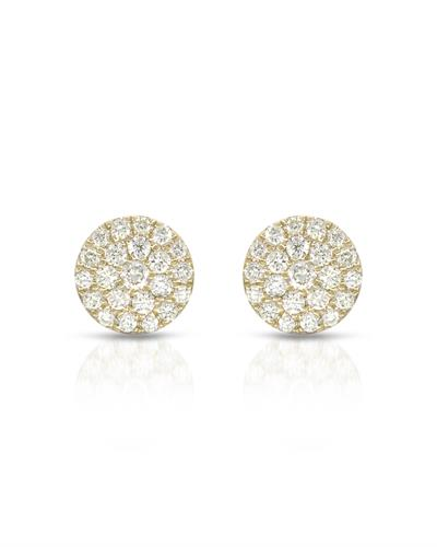 Whitehall Brand New Earring with 0.37ctw diamond 10K Yellow gold