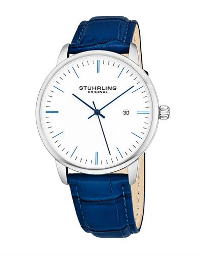 STUHRLING ORIGINAL 3997.3 Brand New Japan Quartz date Watch