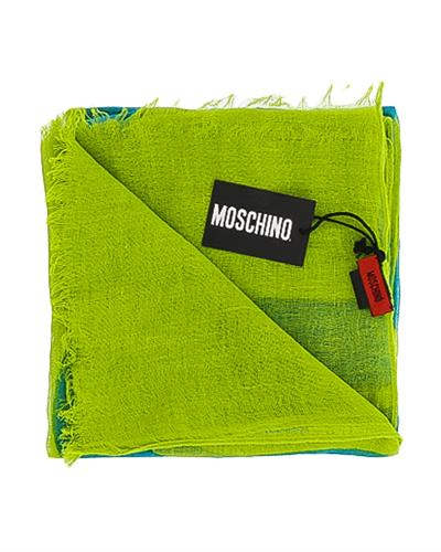 Moschino SCR11235/17 Brand New Scarf  Two tone Cotton