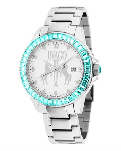 Jivago JV4219 Folie Brand New Swiss Quartz date Watch with 0ctw crystal