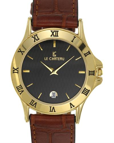 LC le Chateau LC-2155MGBKP Brand New Japan Quartz date Watch