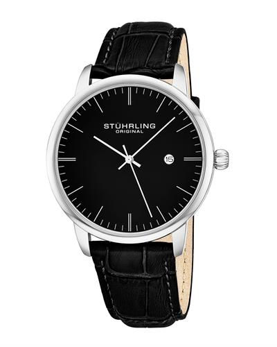 STUHRLING ORIGINAL 3997.2 Brand New Quartz day date Watch