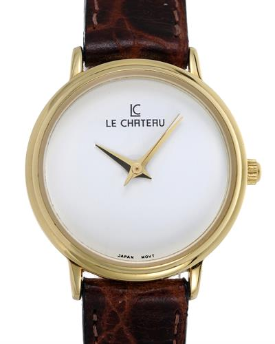 LC le Chateau LC-2011LGWT Brand New Japan Quartz Watch