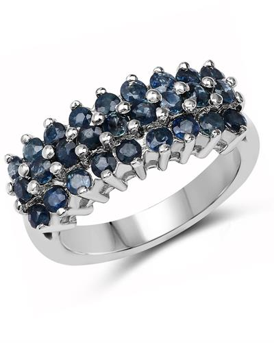 Brand New Ring with 1.62ctw sapphire 925 Silver sterling silver