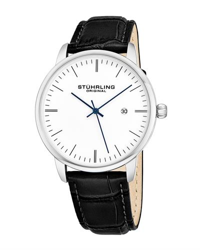 STUHRLING ORIGINAL 3997.1 Brand New Quartz day date Watch