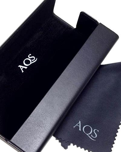 AQS OMIA001 Black Mia Brand New Eyeglasses  Black plastic