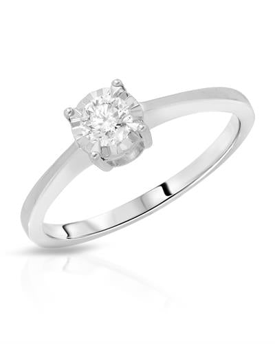 Whitehall Brand New Ring with 0.26ctw diamond 14K White gold