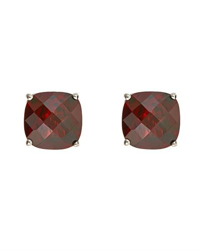 Brand New Earring with 5.4ctw garnet 925 Silver sterling silver