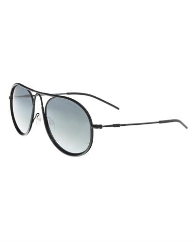 Emporio Armani EA2034 30146G Brand New Sunglasses  Black metal