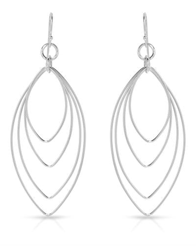 Millana Brand New Earring 925 Silver sterling silver