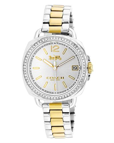 Coach 14502591 Tatum Brand New Quartz date Watch with 0ctw crystal