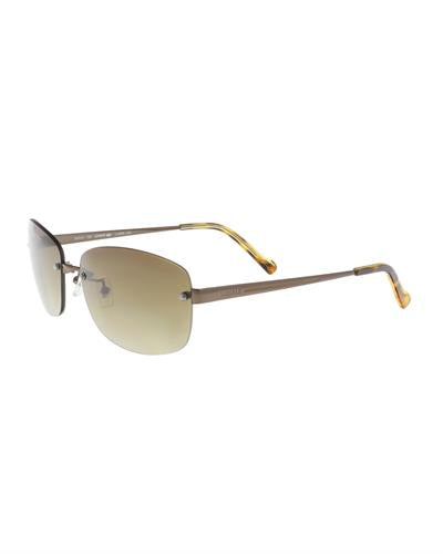Lacoste L139/SA 234 Brand New Sunglasses  Gold plastic