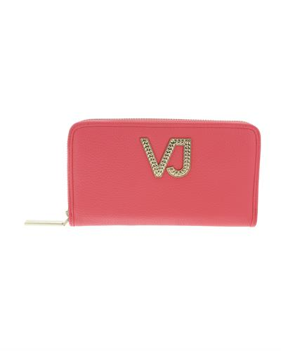 Versace Jeans EE3VRBPC1 Brand New Wallet  Coral Synthetic Leather
