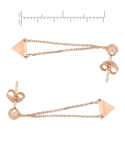 Millana Brand New Earring 14K Rose gold