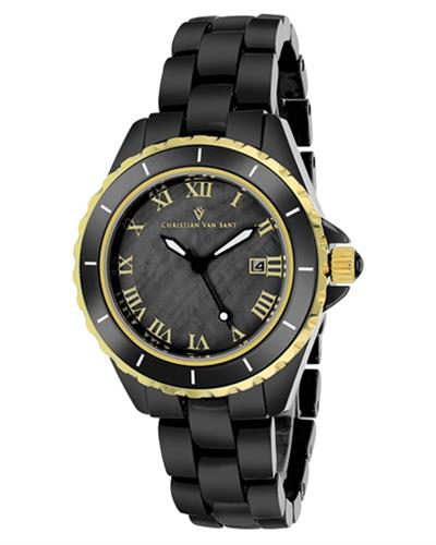 Christian Van Sant CV9415 Palace Brand New Quartz date Watch