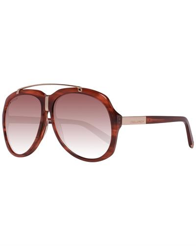 Dsquared2 DQ0110 5947F Brand New Sunglasses  Brown metal and  Brown plastic