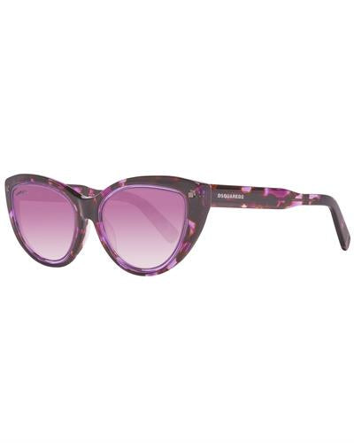 Dsquared2 DQ0170 5355Y Brand New Sunglasses  Purple plastic