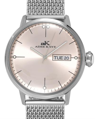 Adee Kaye AK2226-MSV Brand New Japan Quartz date Watch