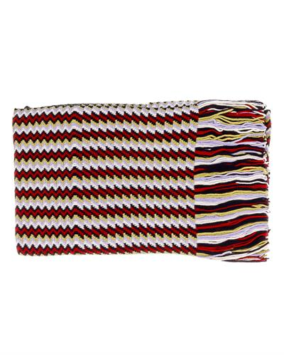 MISSONI D4900 0002 Brand New Scarf  Multicolor acrylic and  Multicolor Wool
