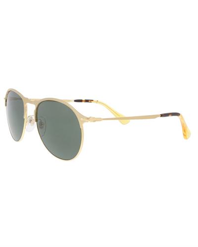 Persol PO7649S 106958 Brand New Sunglasses  Gold metal