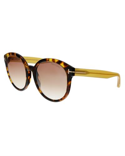 Tom Ford FT0503 52Z Brand New Sunglasses  Havana plastic