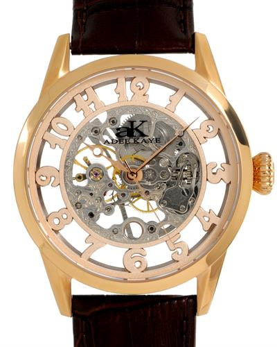 Adee Kaye AK2296-MRGSV Brand New Mechanical Watch