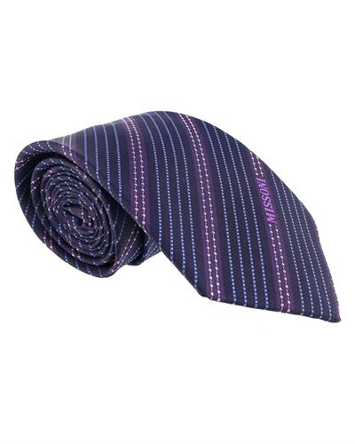 MISSONI Brand New Tie  Two tone Silk
