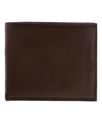 Luciano Barbera CLUB SASA MORO Brand New Wallet  Brown leather