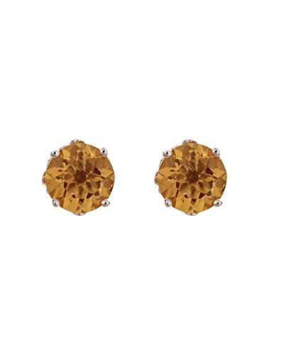 Brand New Earring with 0.92ctw citrine 925 Silver sterling silver