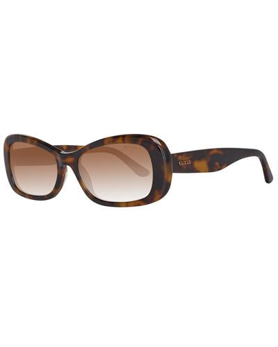 Guess Gu7476 5452H Brand New Sunglasses  Brown plastic