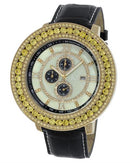 KC WA009402 Brand New Quartz day date Watch with 0ctw of Precious Stones - cubic zirconia and mother of pearl