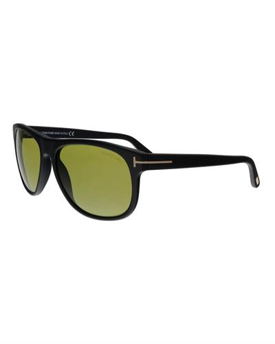 Tom Ford FT0236 02N Olivier Brand New Sunglasses  Black plastic
