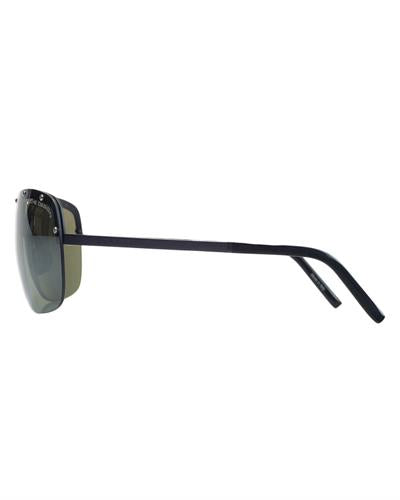 Porsche Design P8576-C Brand New Sunglasses  Black metal