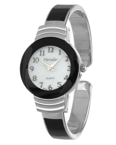 Varsales V4559-3 Brand New Japan Quartz Watch with 0ctw mother of pearl