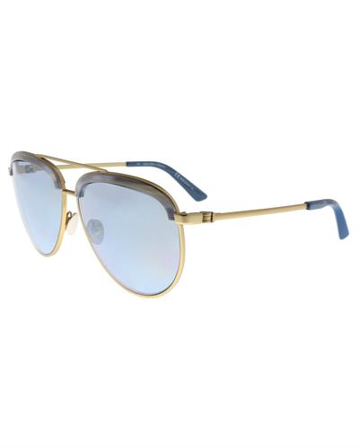 Calvin Klein CK8048S 718 Brand New Sunglasses  Gold metal