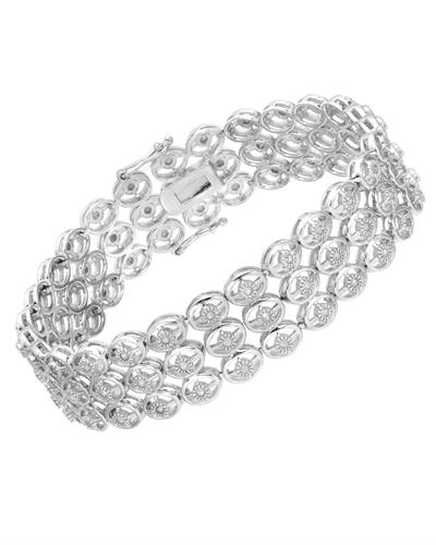 Brand New Bracelet with 1ctw diamond 925 Silver sterling silver