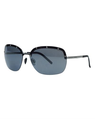 Porsche Design P8576-D Brand New Sunglasses  Gunmetal metal