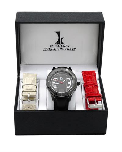 KC WA007917 Brand New Quartz Watch with 0.06ctw diamond