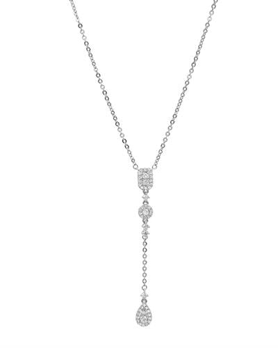 Brand New Necklace with 0.38ctw diamond 14K White gold