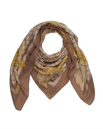 Guess AW6702POL03 CAO Brand New Scarf  Brown Polyester