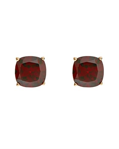 Brand New Earring with 3.06ctw garnet 14K Yellow gold