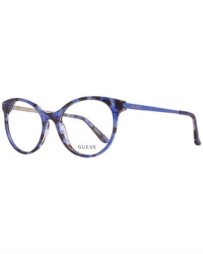 Guess GU2680 52092 Brand New Eyeglasses  Blue metal and  Blue plastic